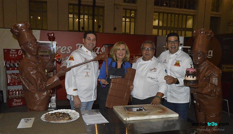 El Salón del Chocolate de Madrid terminó con éxito y  notable presencia extremeña