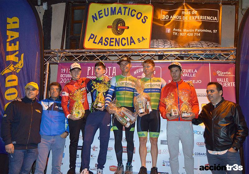 Picota Bike Race podio equipo hombre