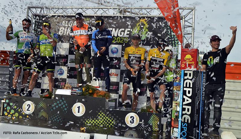 Algarve Bike Challenge 2020 podio absoluto hombres