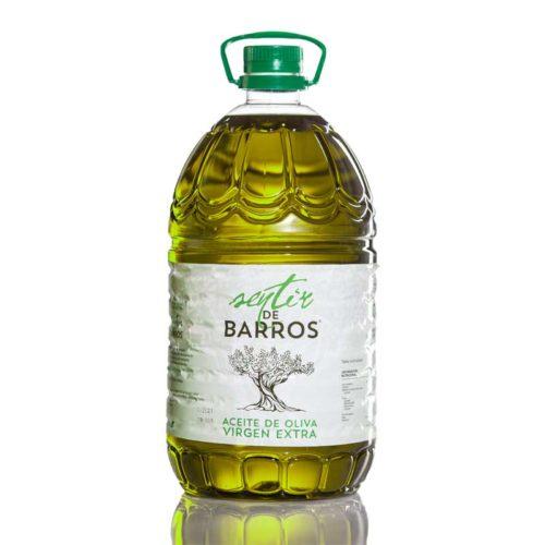 AOVE Sentir de Barros garrafa 5 L.