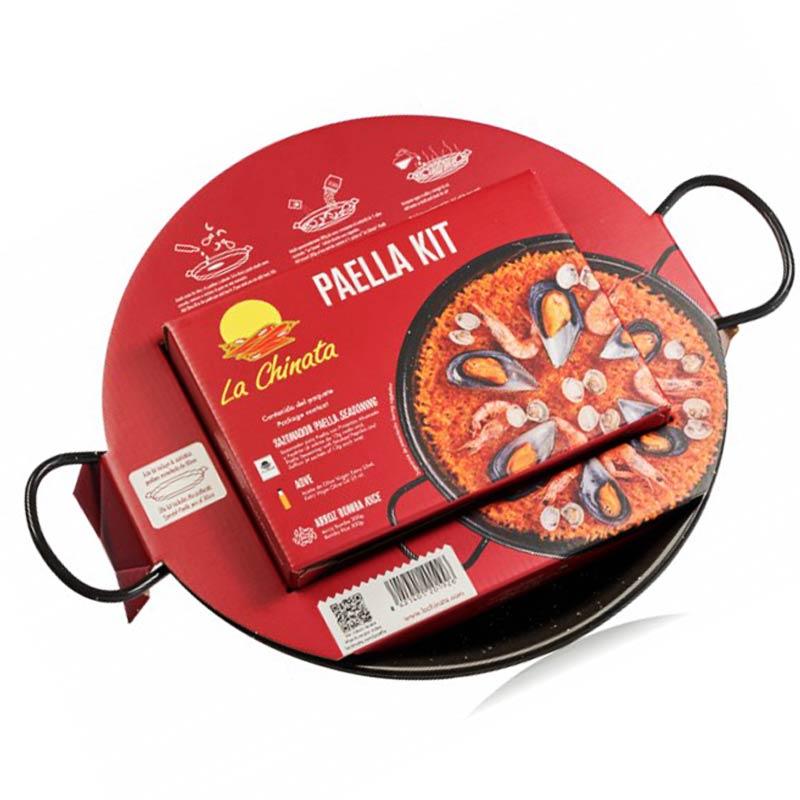 Kit Paella con paellera La Chinata