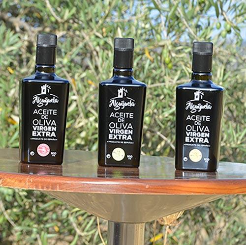 "Aceite de Oliva Virgen Extra ""Alguijuela"" 500 ml gourmet 2"