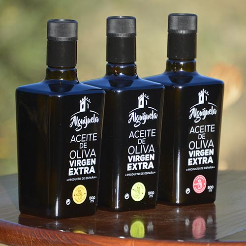"Aceite de Oliva Virgen Extra ""Alguijuela"" 500 ml gourmet 3"