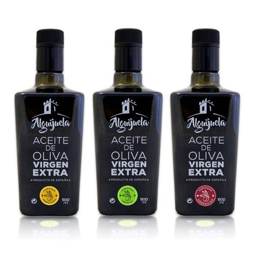 AOVE Alguiguela 500 ml gourmet x3