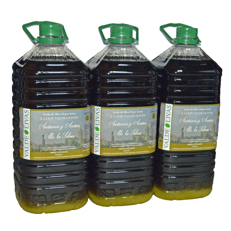 Valdeolivas AOVE caja 3x5 litros