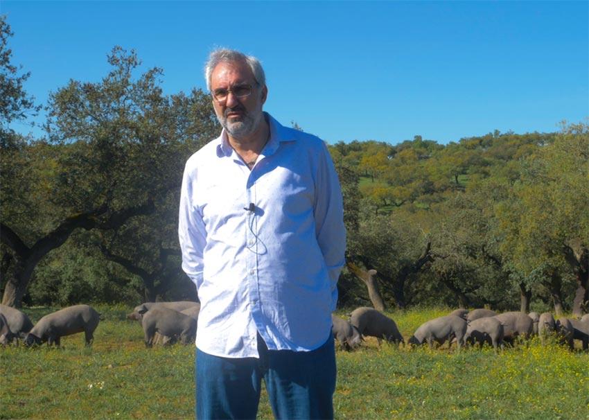 Pepe Barroso, veterinario jerezano de la DO Dehesa de Extremadura