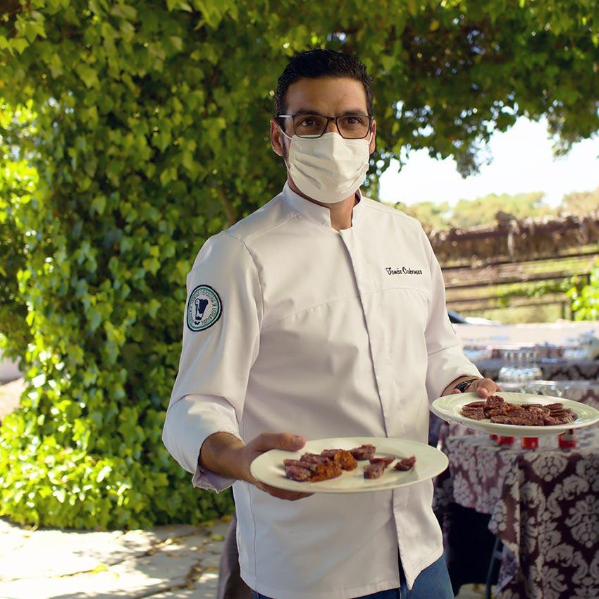 Tomás Carbonero, cocinero jerezano impulsor de este proyecto