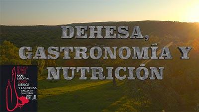 Dehesa Gastronomia y Nutricion. XXXI Salón del Jamón Ibérico y la Dehesa. Jerez de los Caballeros